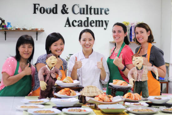 Korean Cooking Class - Korea Food and Culture Academy with the amazing Ellie.