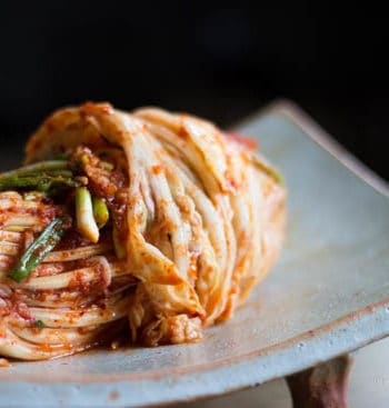 Kimchi recipe: All wrapped and ready to eat.
