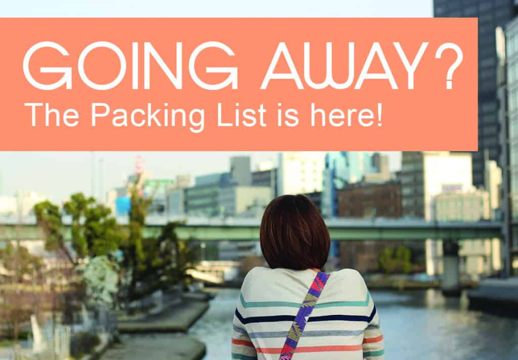 Download The Packing List - the ultimate pack list for multi-season long term travel.