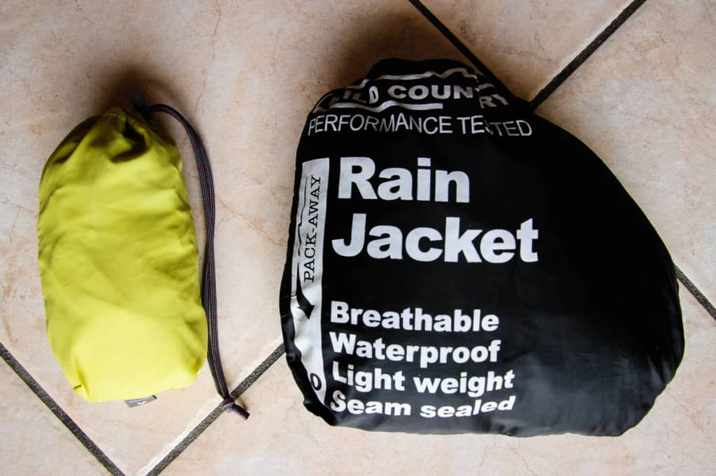 Travel Packing List - The best rain jacket to pack should be lightweight and small.