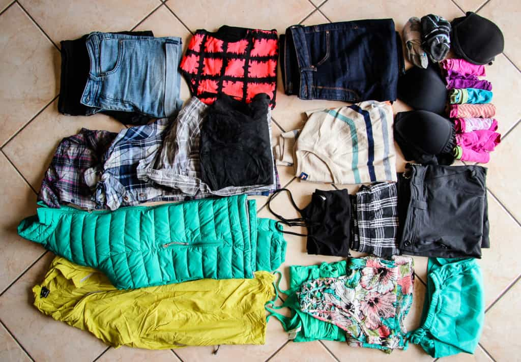 Travel Packing List - What to pack for Clothes and UnderwearUnderwearClothes and Underwear