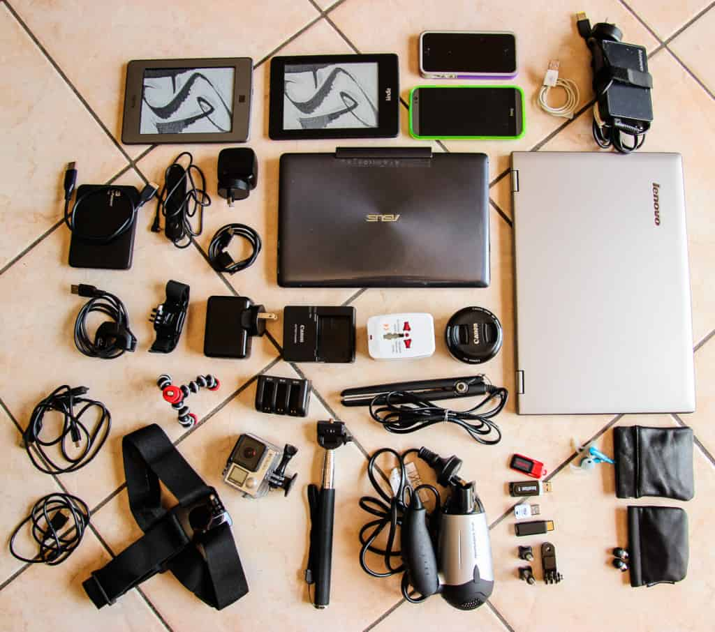 Travel Packing List - What to pack for Electronics