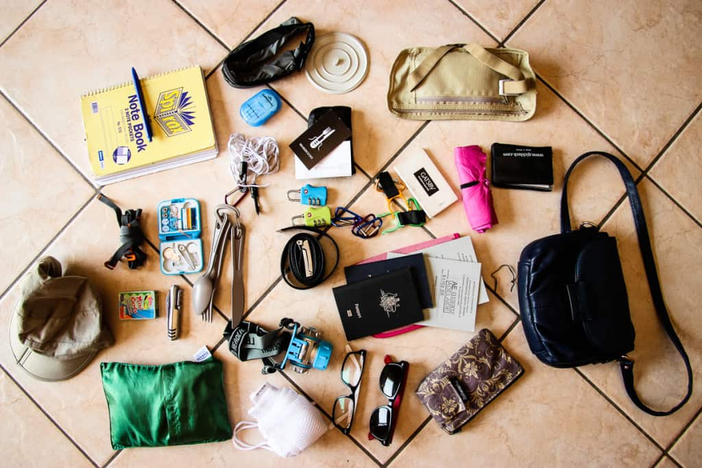 Travel Packing List - What to pack for Accessories