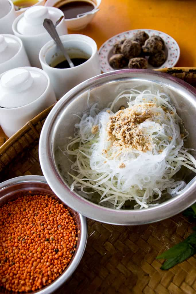 how to make vermicelli noodles not stick together