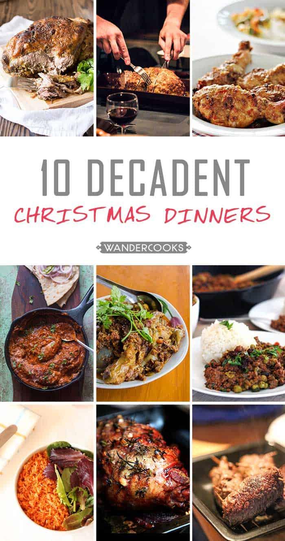 Top 10 Decadent Christmas Dinners