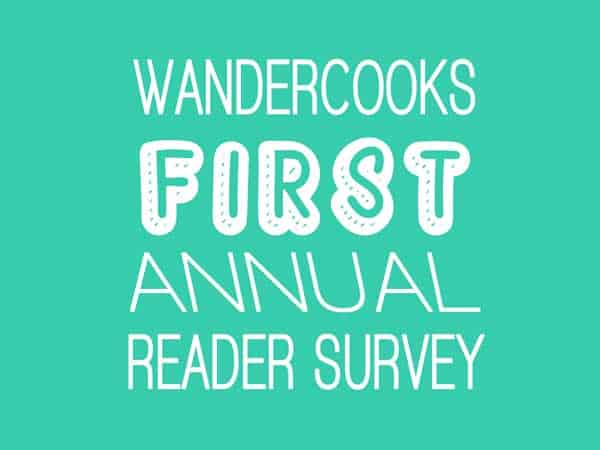 First Annual Reader Survey for a Deliciously Awesome 2016
