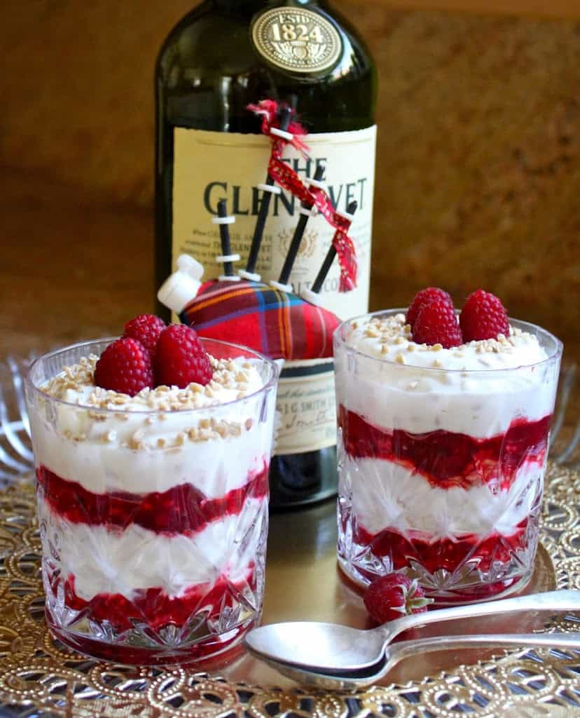 International Christmas Desserts - Scottish Cranachan by Christina's Cucina