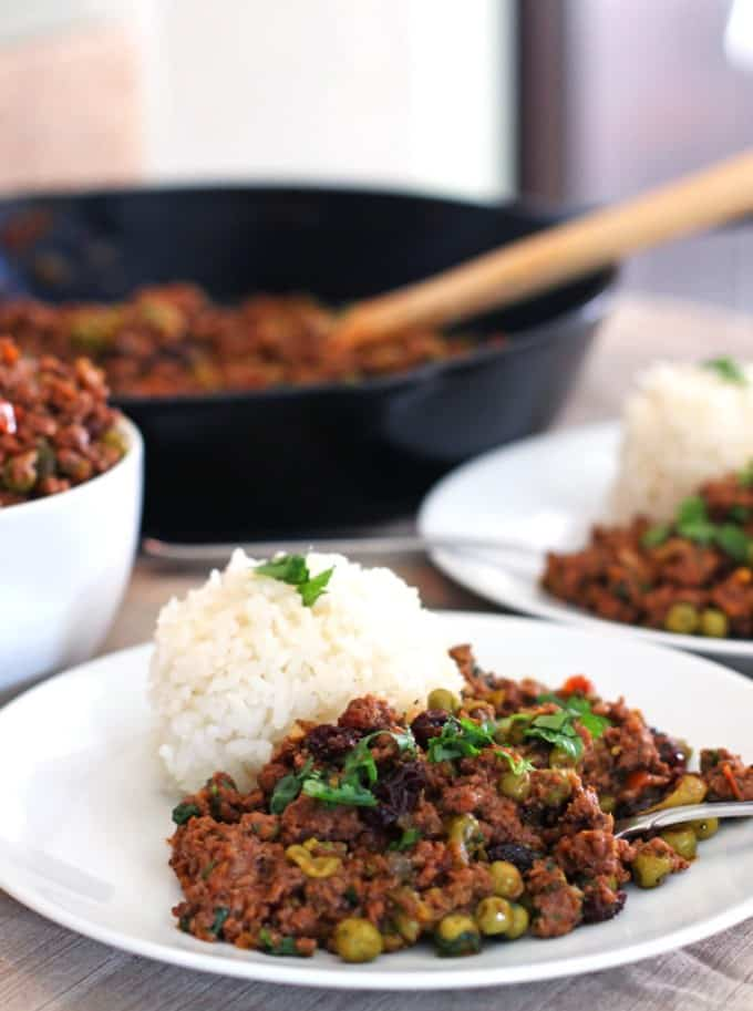 Decadent Christmas Dinners: Cuban Style Picadillo by Bits of Umami