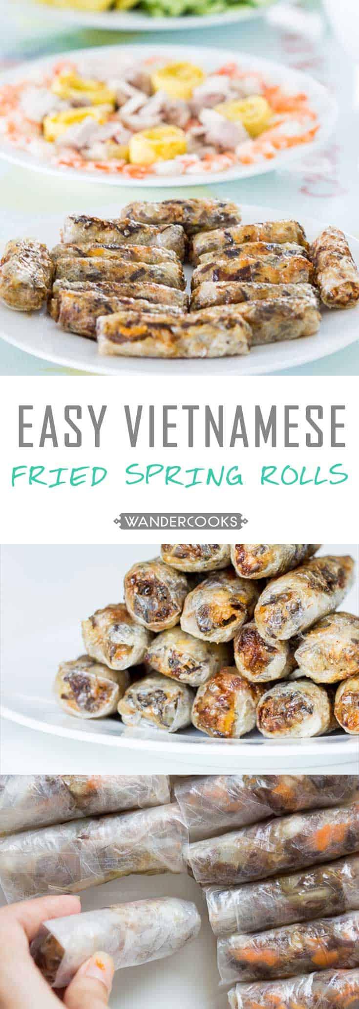 beef spring roll recipe vietnamese Vietnamese Fried Spring Rolls Recipe