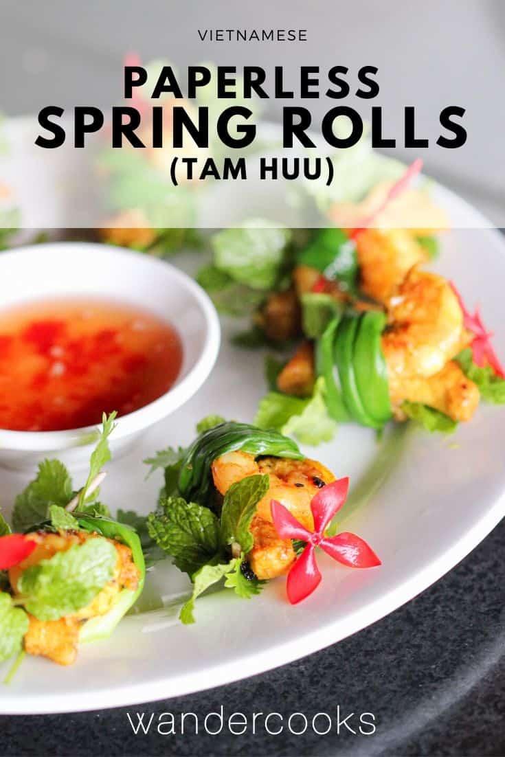 Tam Huu – Three Friends Spring Onion Rolls