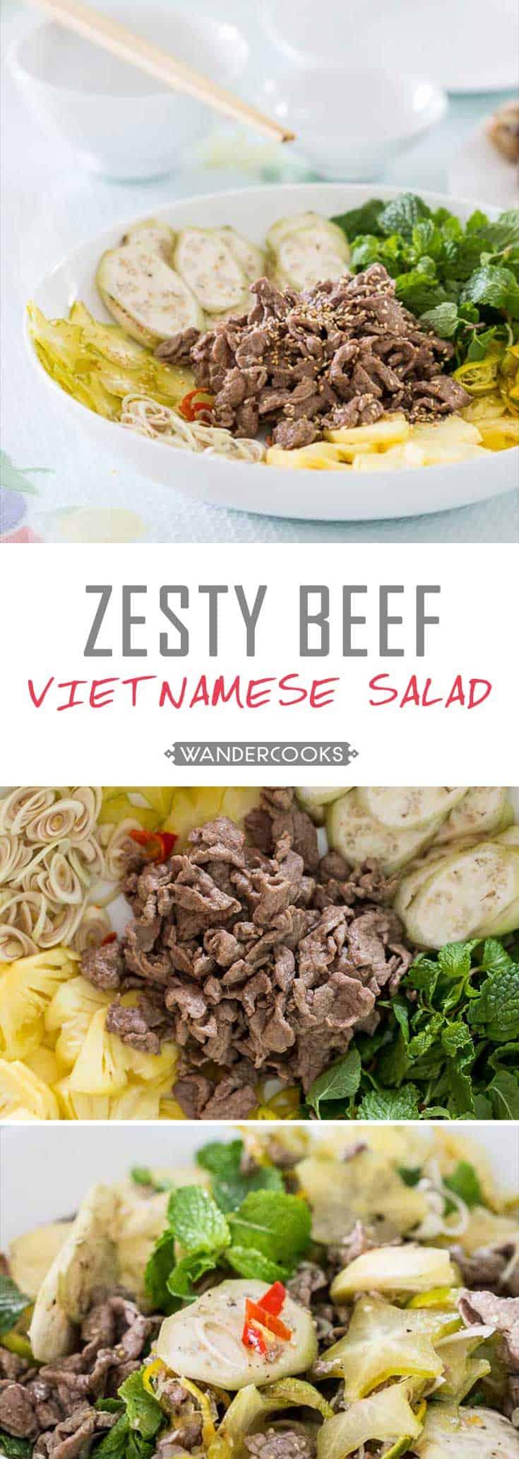 Zesty Vietnamese Beef Salad