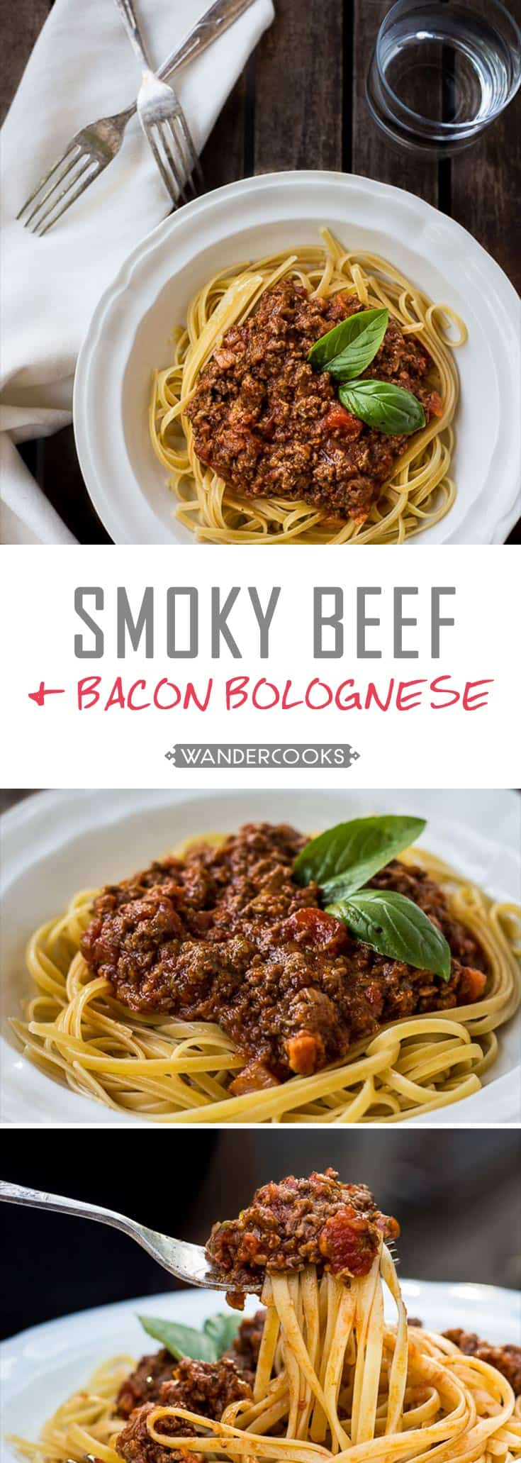 Smoky Beef and Bacon Bolognese