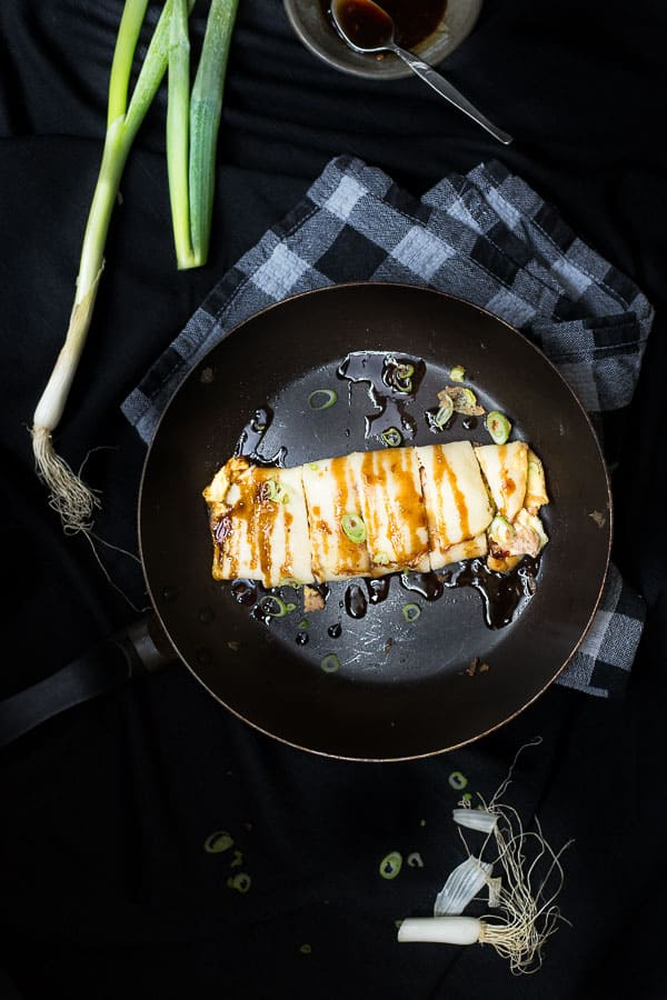 Tasty Taiwanese Tuna and Egg Crepes (Dan Bing 蚕餅) - Some call them pancakes, or eggs rolls but however you make them for breakfast we guarantee a delicious outcome. Not to mention they are so easy to make! | wandercooks.com