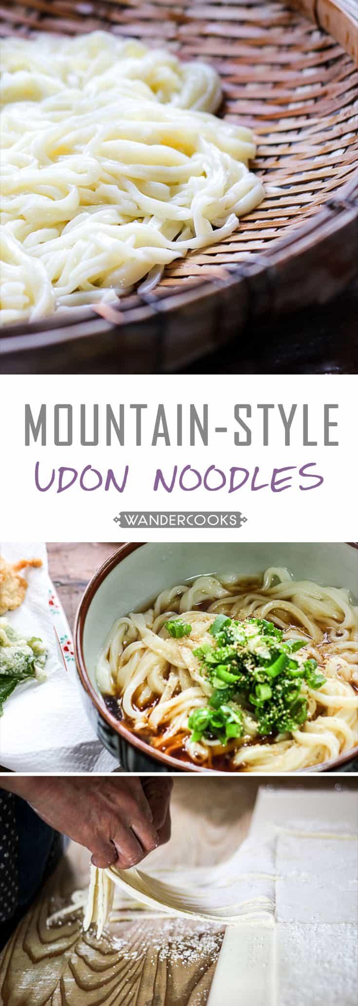 Shikoku Mountain-Style Udon Noodles