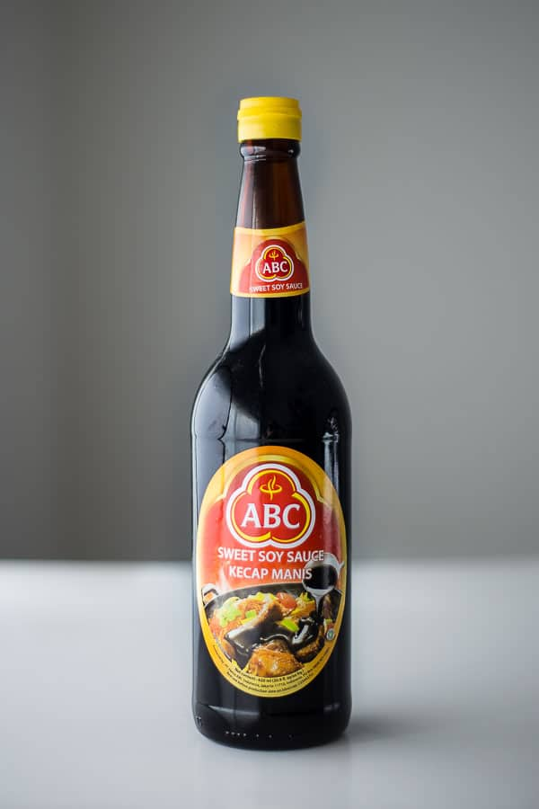 Bottle of Kecap Manis.