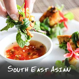 South East Asian Recipes - Do you feel like paperless spring rolls in Vietnam or a bowl of green mango salad from Cambodia? We've got you covered. | wandercooks.com