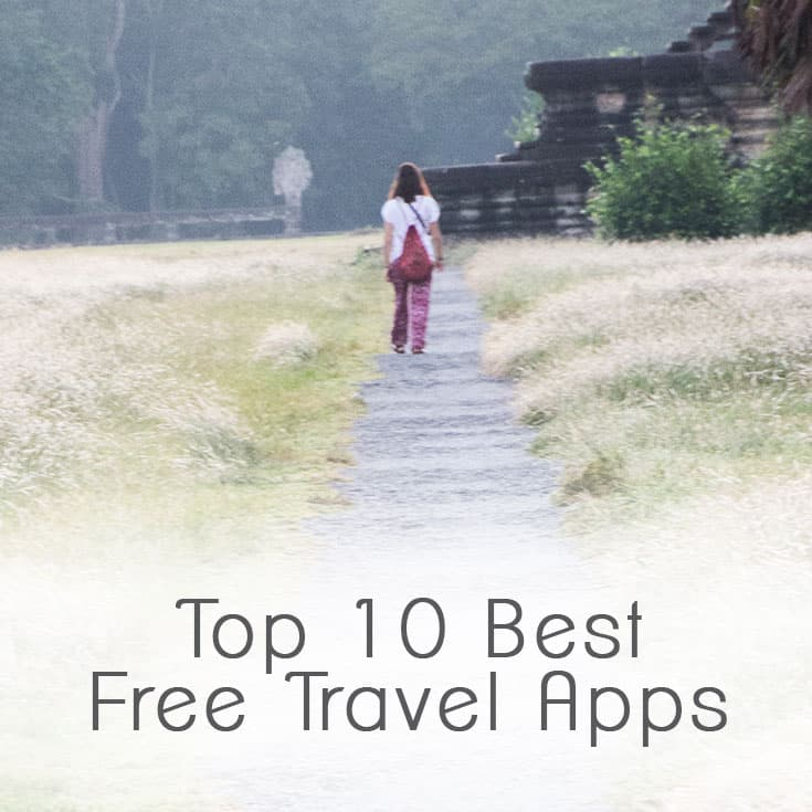 Top 10 Best Free Travel Apps - Find the best and cheapest deals on flights and accommodation and get the best apps to stay in touch or order a meal in the native language!   wandercooks.com