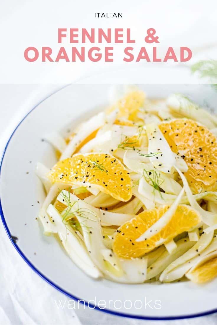 Italian Fennel and Orange Salad