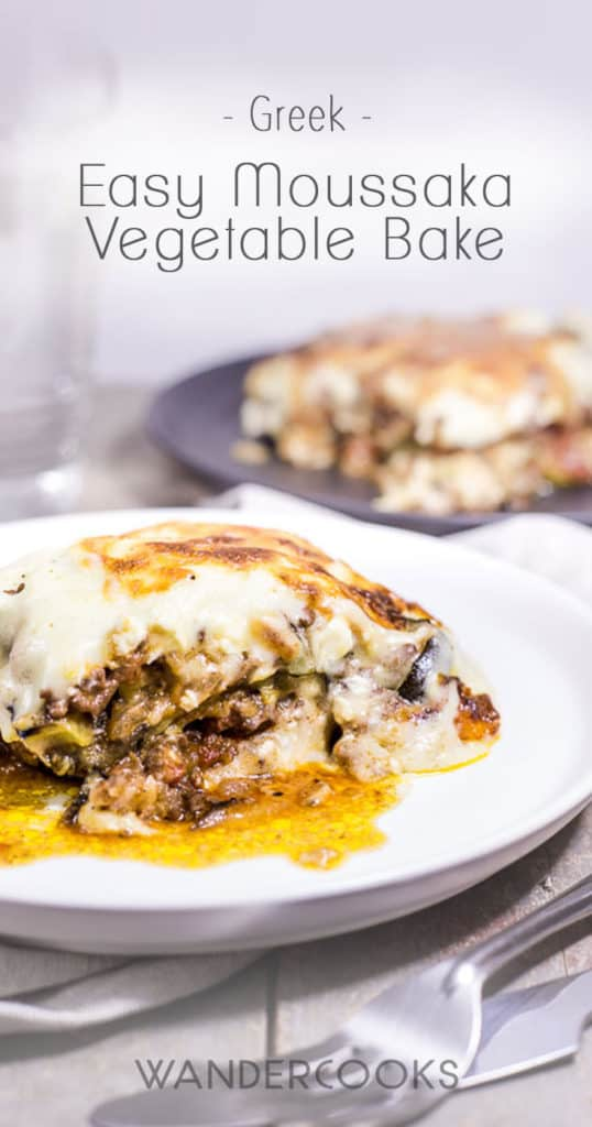 Easy Moussaka Greek Vegetable Bake