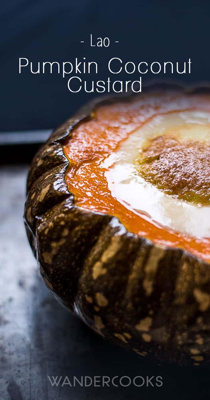 Lao Pumpkin Coconut Custard
