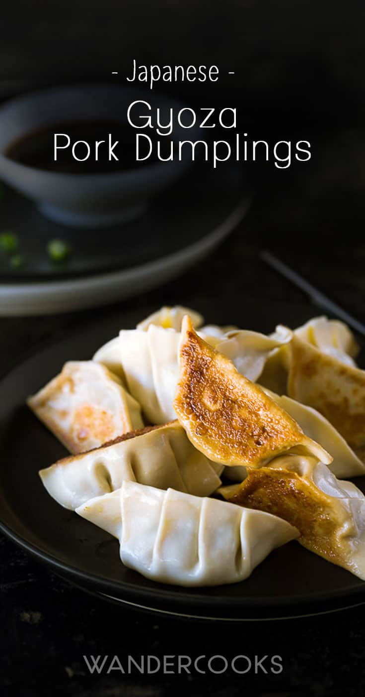 Pork Gyoza – How to Make Japanese Dumplings