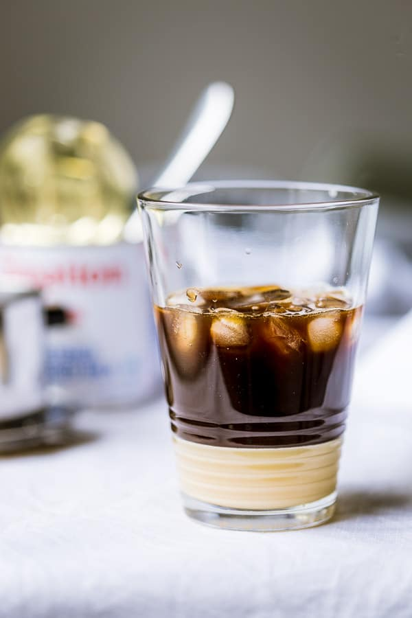 how to make iced coffee at work