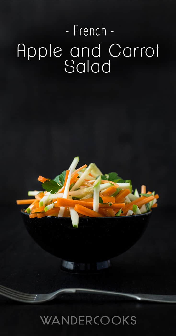 French Apple and Carrot Salad