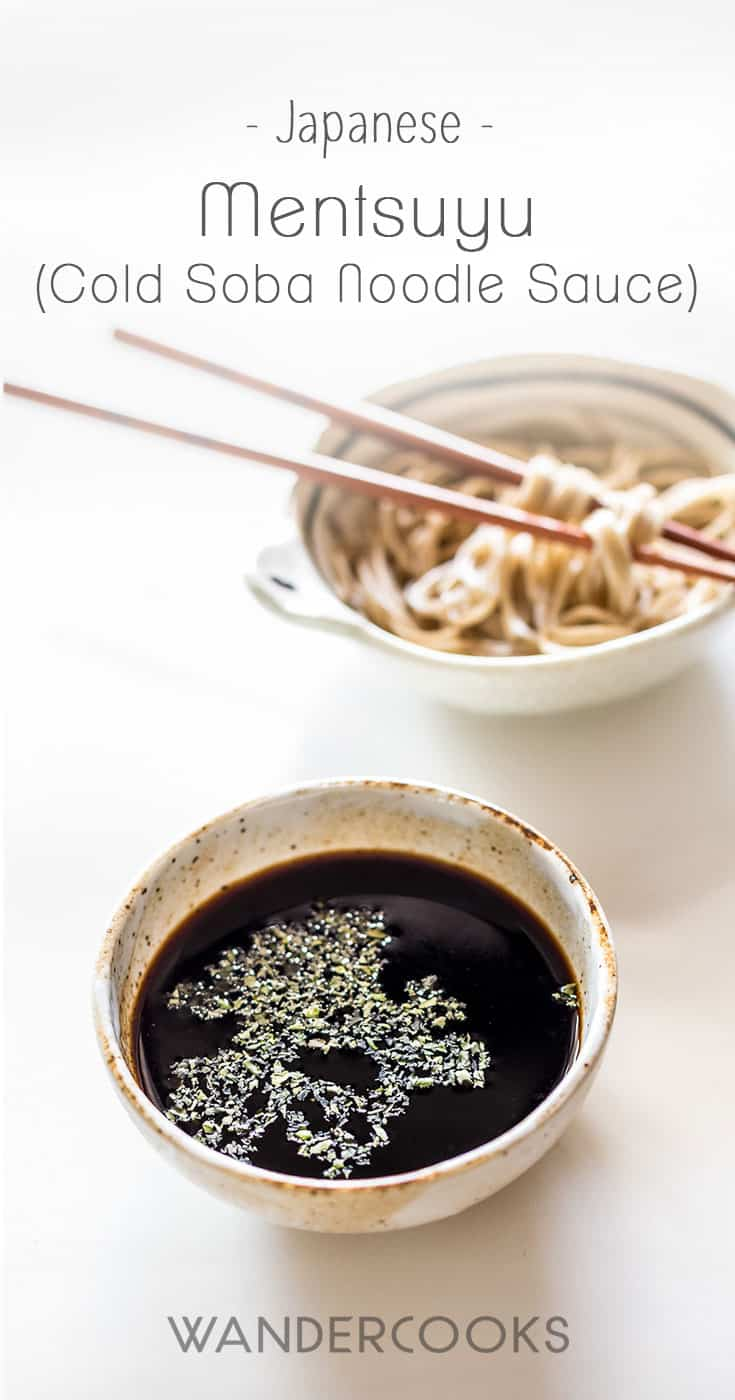 Mentsuyu Recipe (Cold Soba Noodle Dipping Sauce)