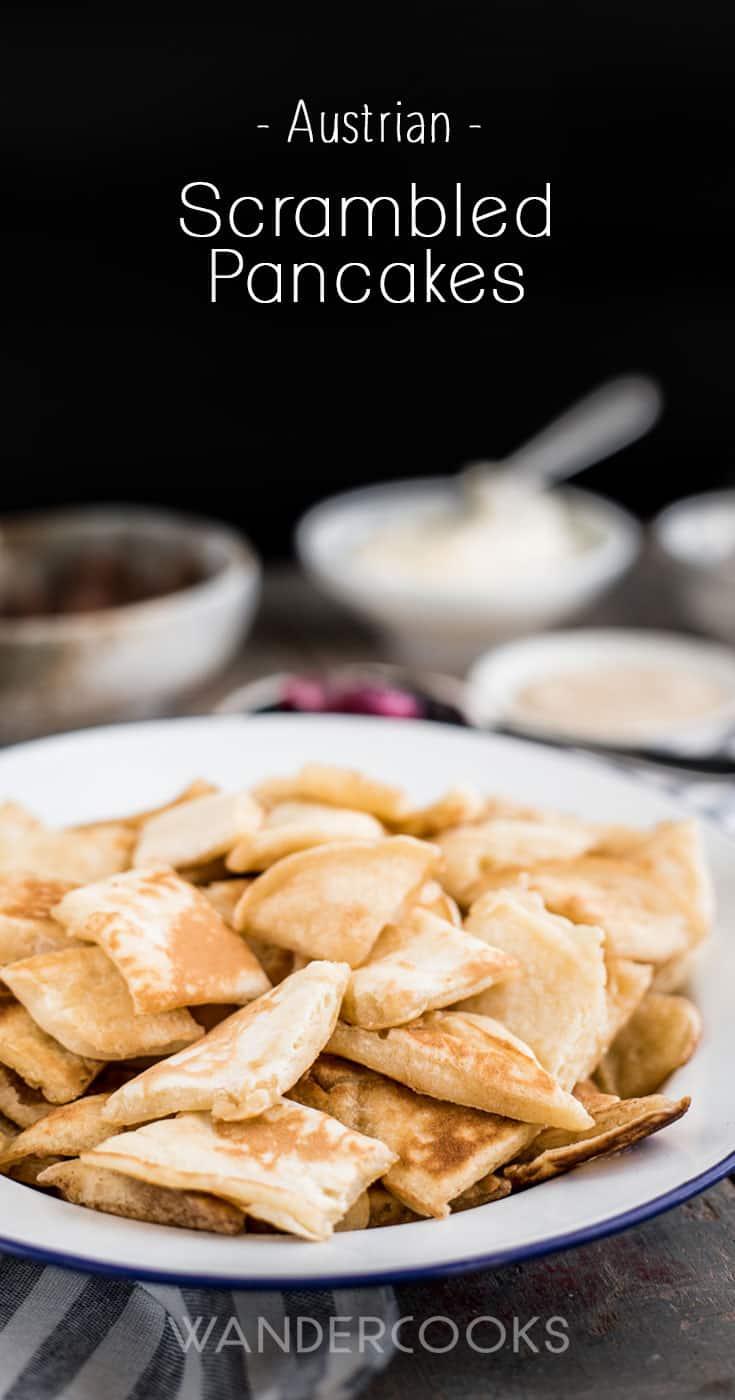 Addictive Scrambled Pancakes for Food Sharing