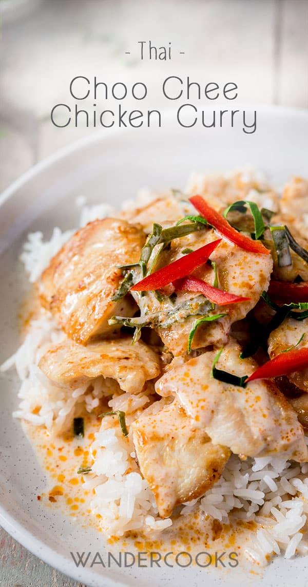 Choo Chee Chicken Curry Recipe (Thai-Australian Fusion)