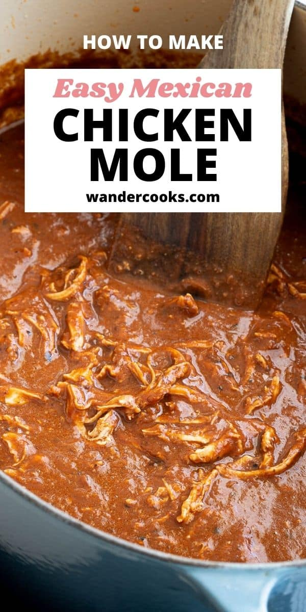 Mexican Chicken Mole Recipe with Dark Chocolate