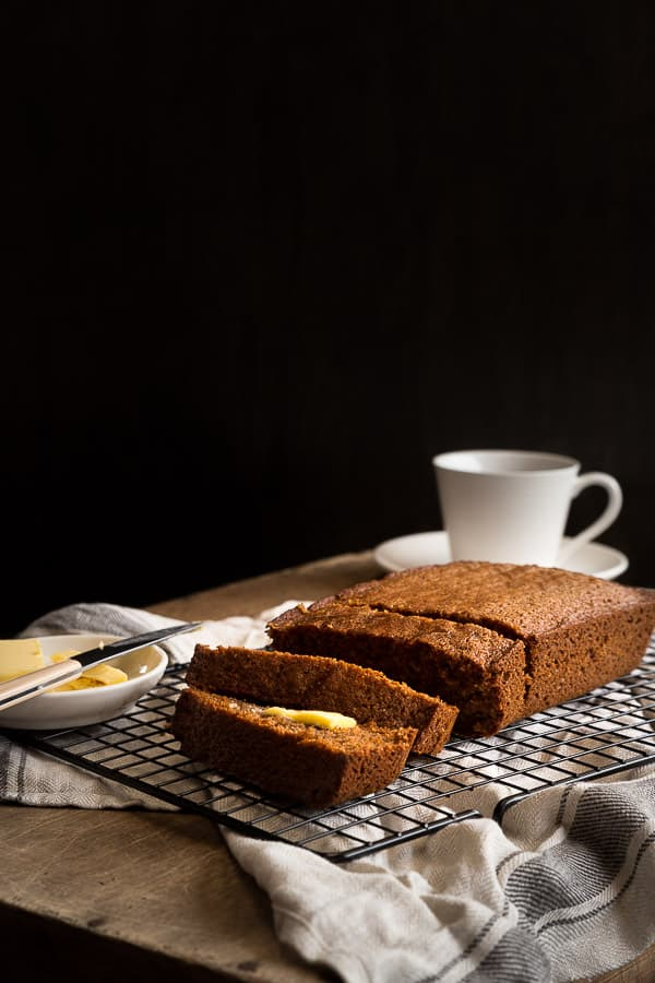 Pain D'epices (French Spice Cake) Recipe - Like cake and gingerbread together, this easy snack is perfect with a cup of tea. Grab the rye flour, butter, milk and spices and you're ready to go. | wandercooks.com