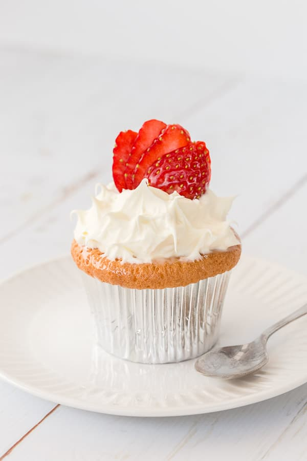 Tres Leches Cupcakes Recipe - A decadent yet light dessert or party plate just oozing with creamy goodness. Soaked in '3 milks', this moreish dessert is a winner with friends. | wandercooks.com