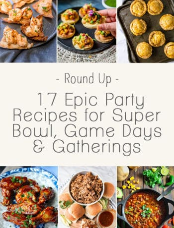 17 Epic Party Recipes for Super Bowl, Game Days and Gatherings - Finger food and appetiser recipes are a must when it comes to hosting. Whether it's fried chicken, chilli, pulled pork or fried wontons - we have you covered. | wandercooks.com #superbowl #recipes #appetizers