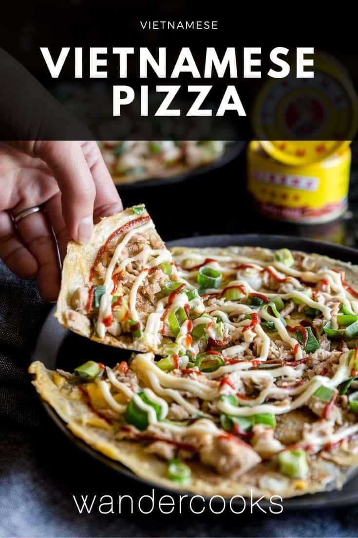Vietnamese Pizza (Bánh Tráng Nướng)