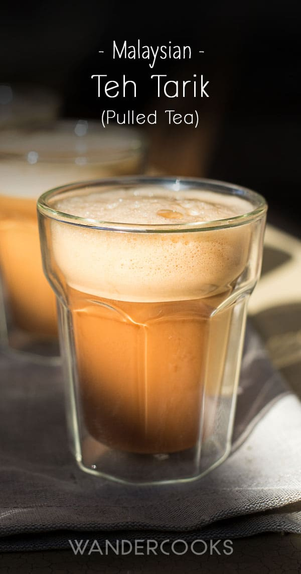 Teh Tarik Recipe - Malaysian Pulled Tea
