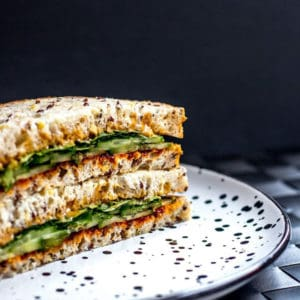 Crazy Good Gochujang & Peanut Butter Sandwiches