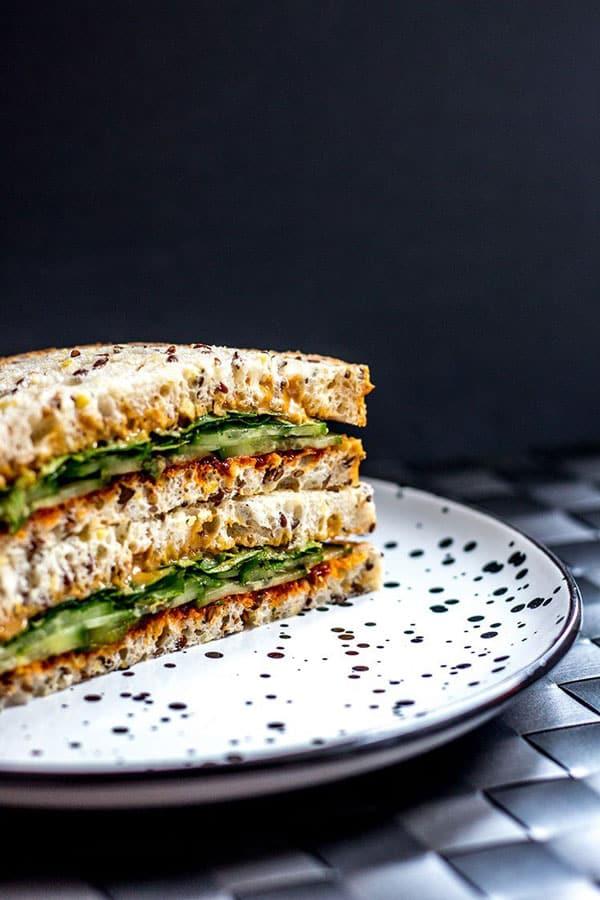 Crazy Good Gochujang & Peanut Butter Sandwiches
