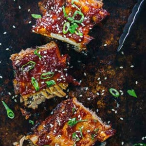 Korean Gochujang Ribs