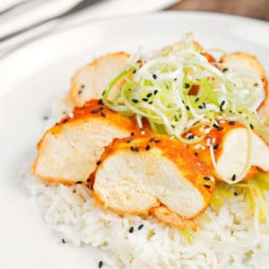 Korean Steamed Chicken Breast