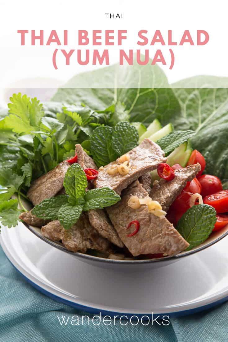 Yum Nua - Spicy Thai Beef Salad Recipe