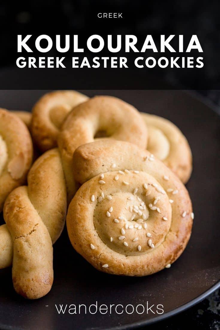 Koulourakia – Greek Easter Cookies