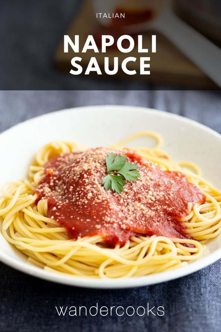 Napoli Sauce with Pasta