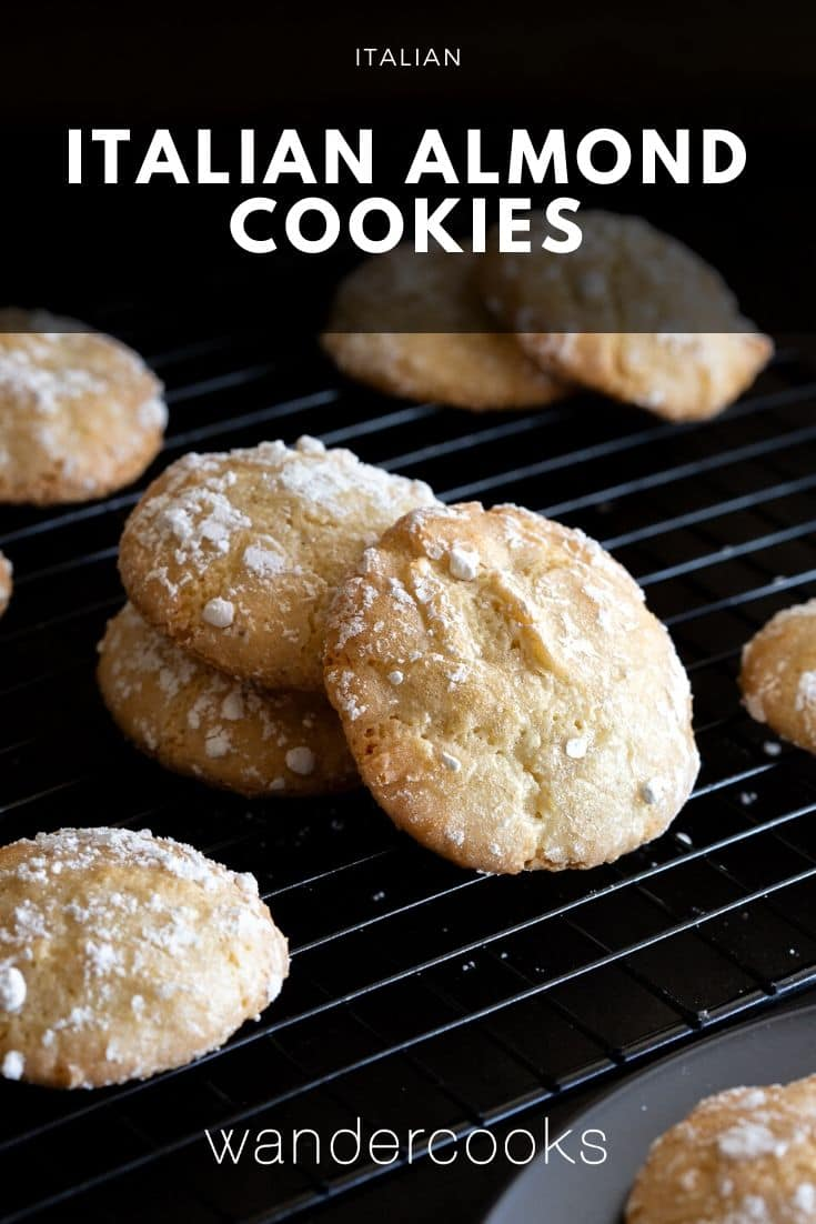 Chewy Italian Almond Biscuits