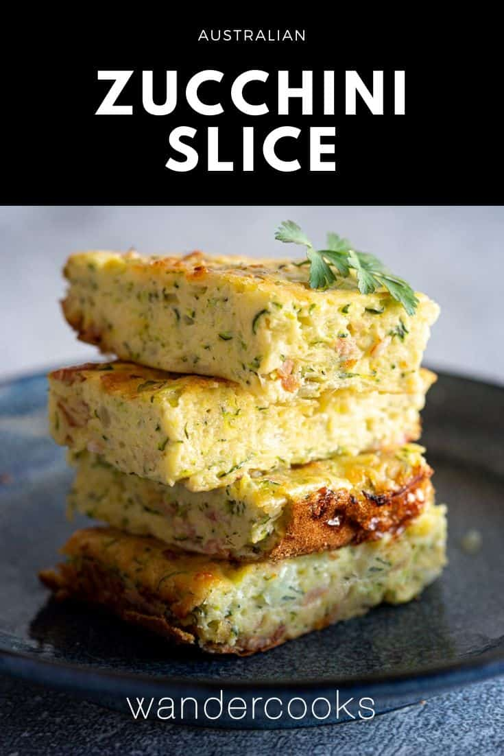 Simple Zucchini Slice