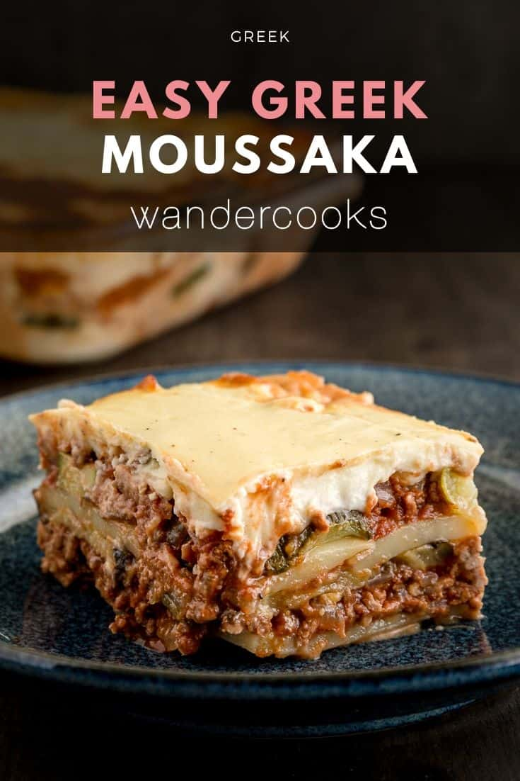 Easy Greek Moussaka Bake