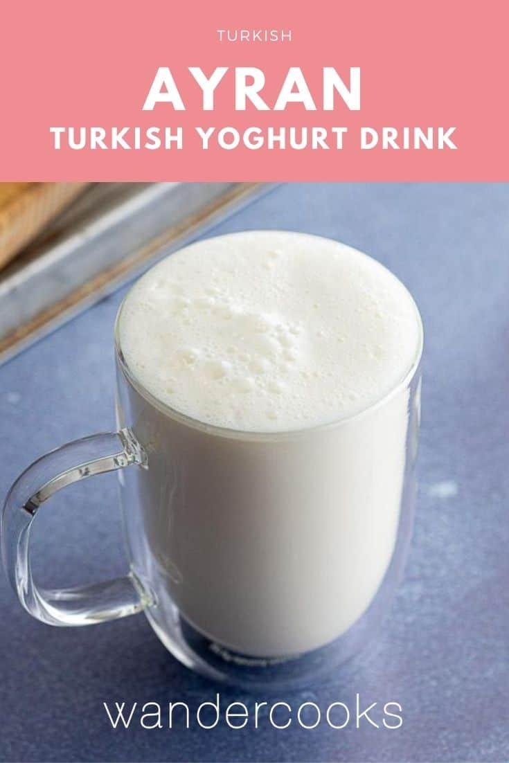 Ayran Recipe - Turkish Yoghurt Drink