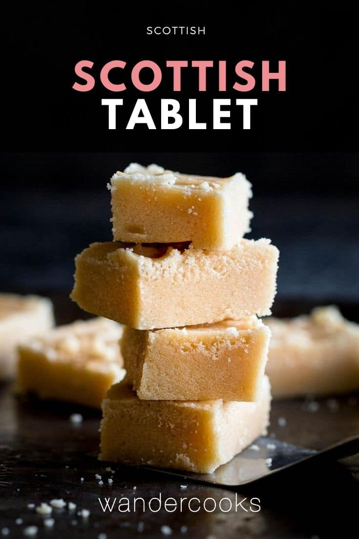 Scottish Tablet Recipe
