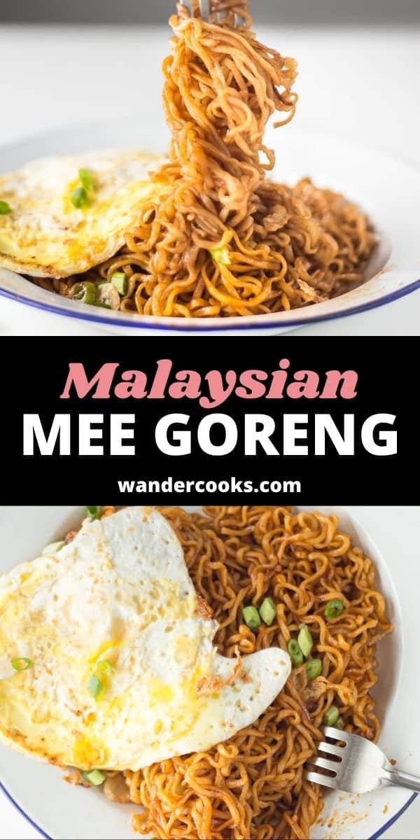 Simple Malaysian Mee Goreng