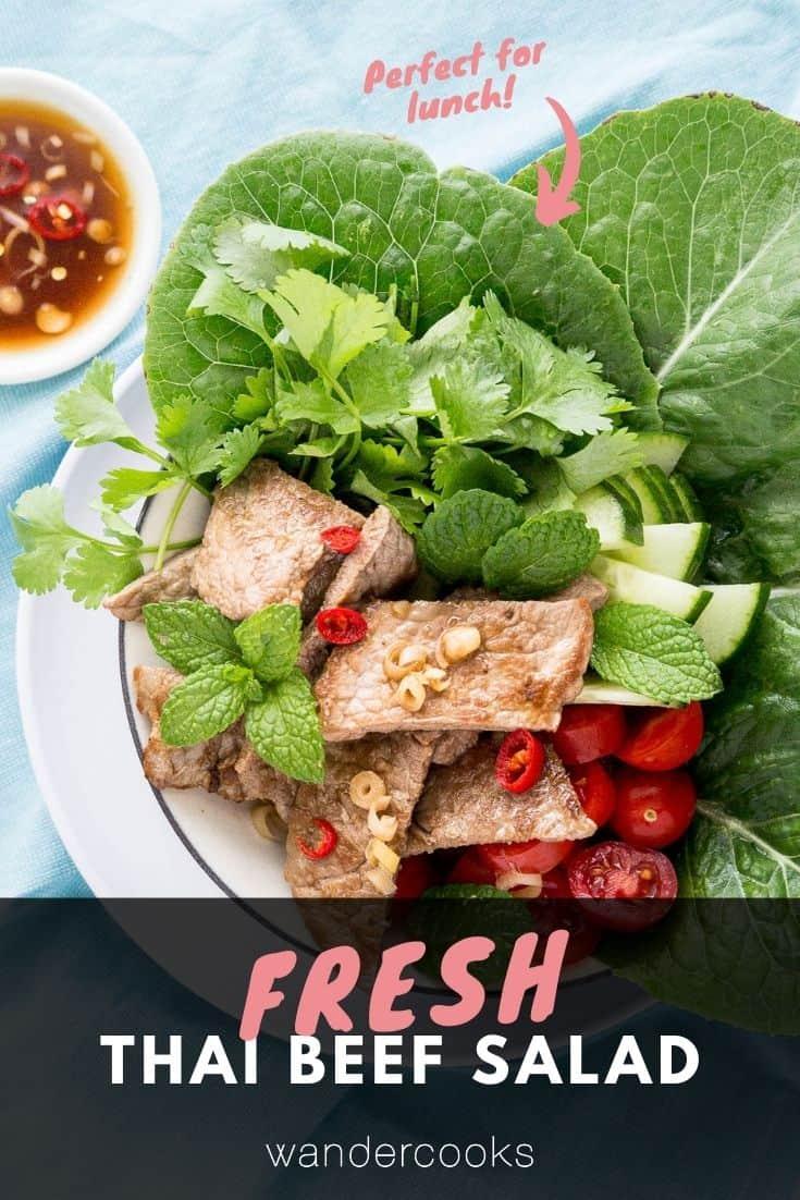 Thai Beef Salad - Yum Nua